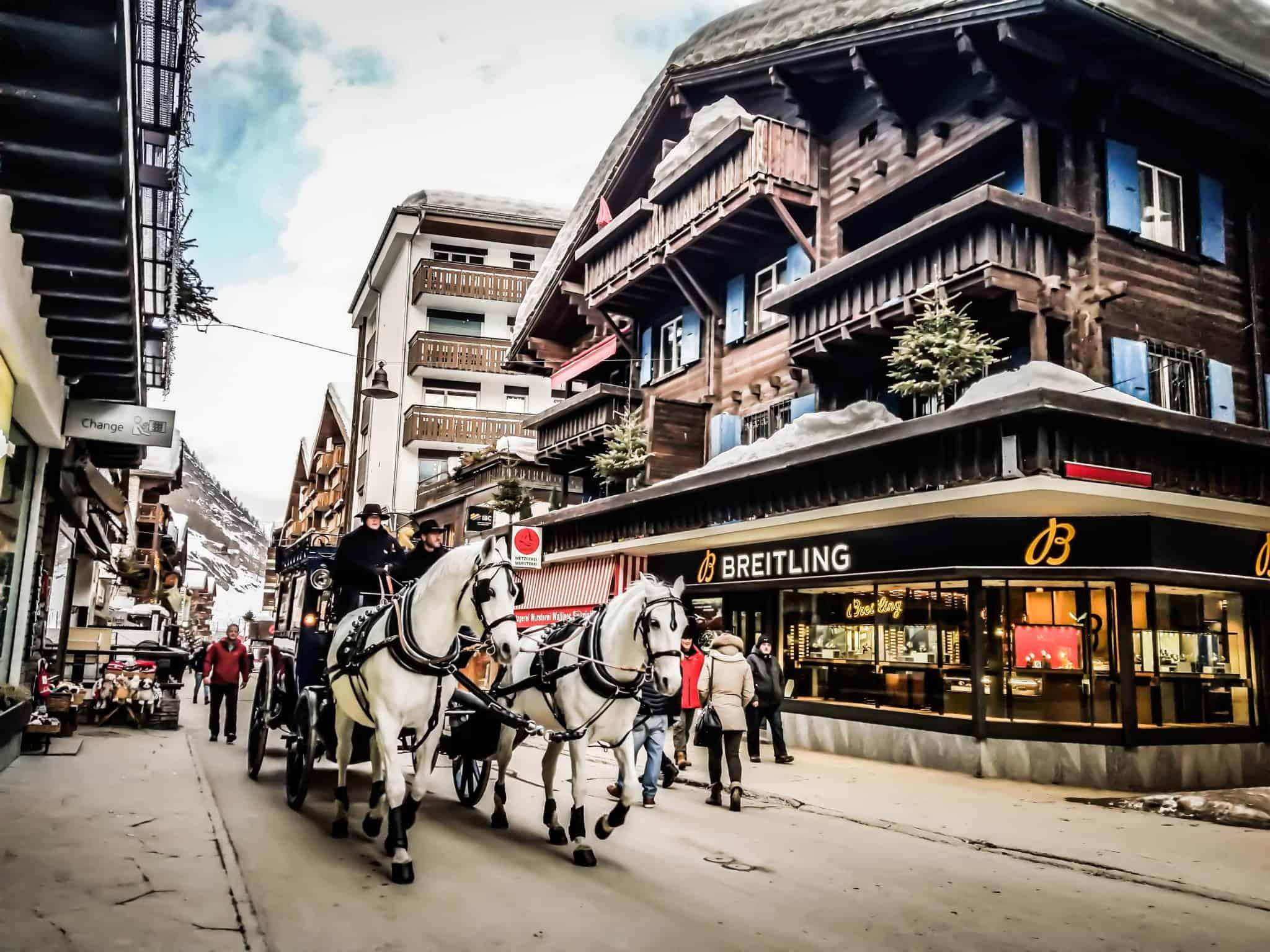 Zermatt Car Free village