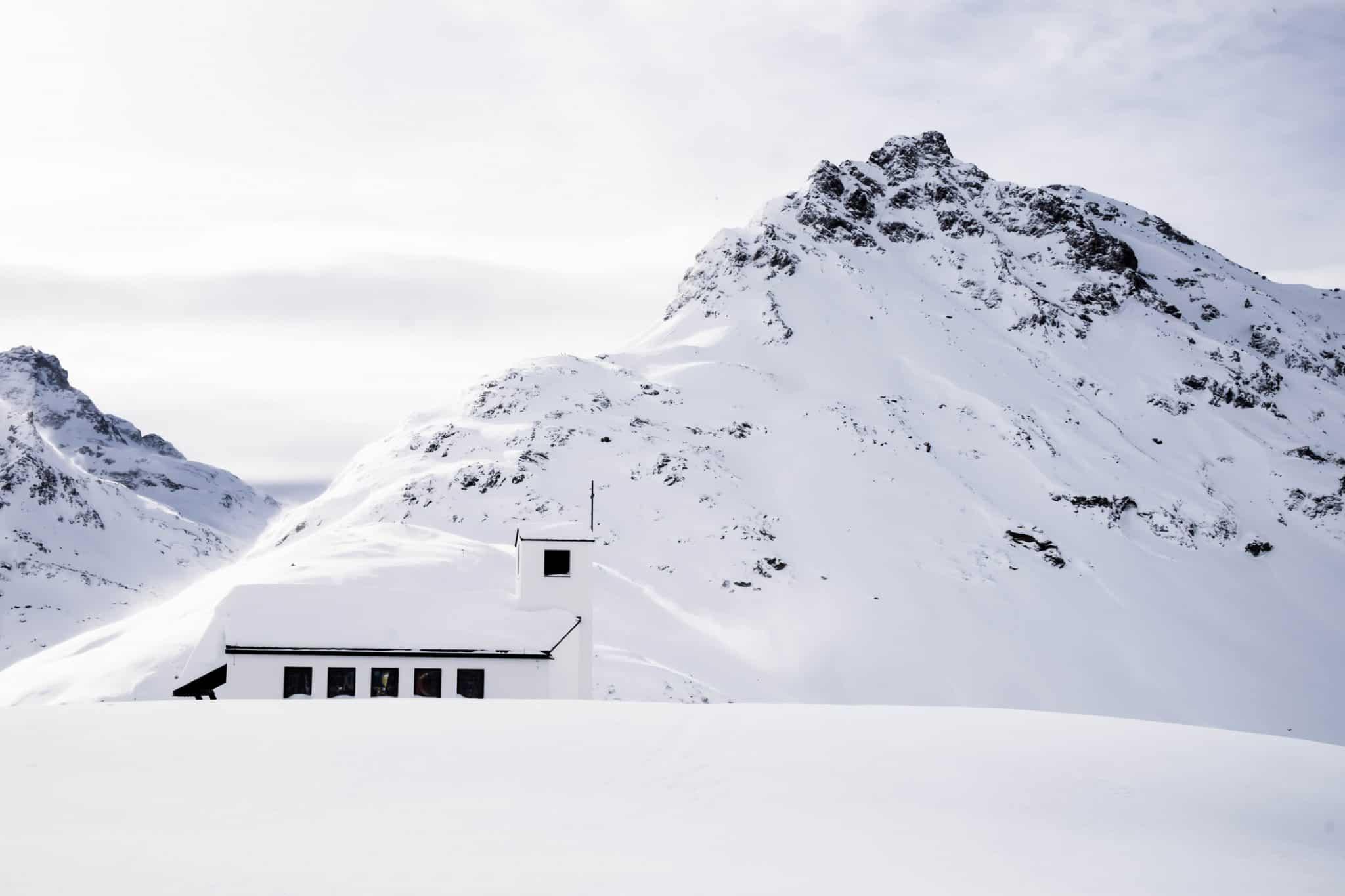 Vorarlberg Mountains Ski Austria