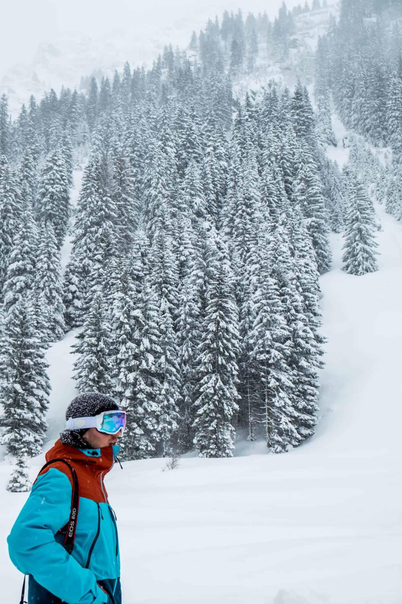 Winter Storm Gargellen Austria Cameron Seagle