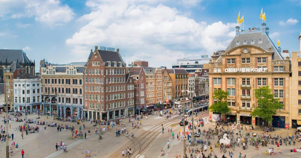 Five amazing european city breaks and where to stay for Ostello amsterdam piazza dam