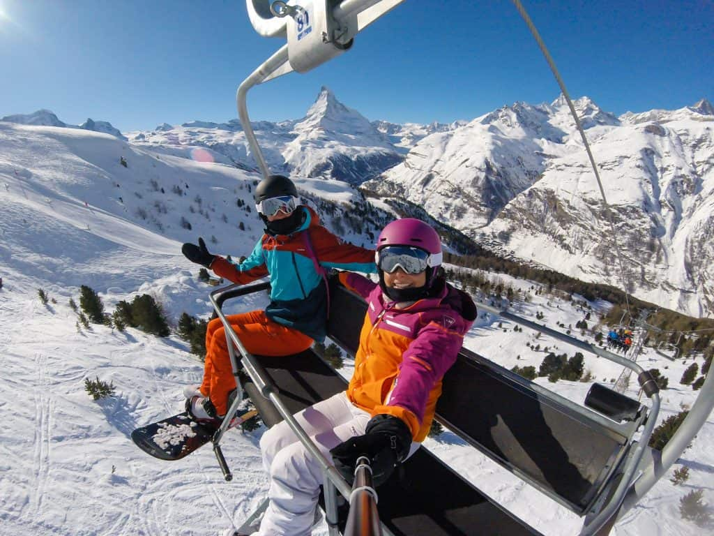 Zermatt Matterhorn Chair Lift