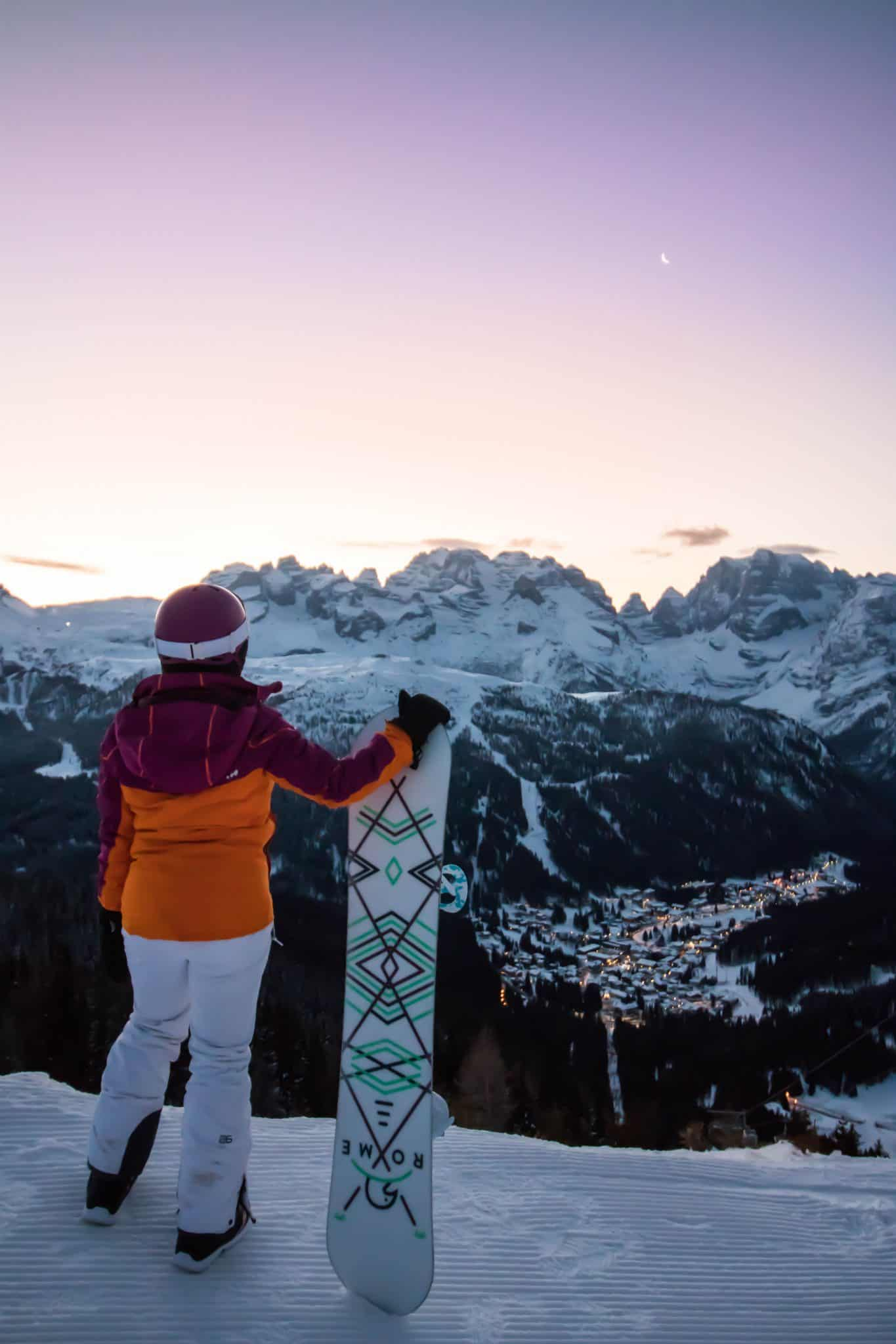 Trentino Ski Sunrise Madonna Di Campiglio