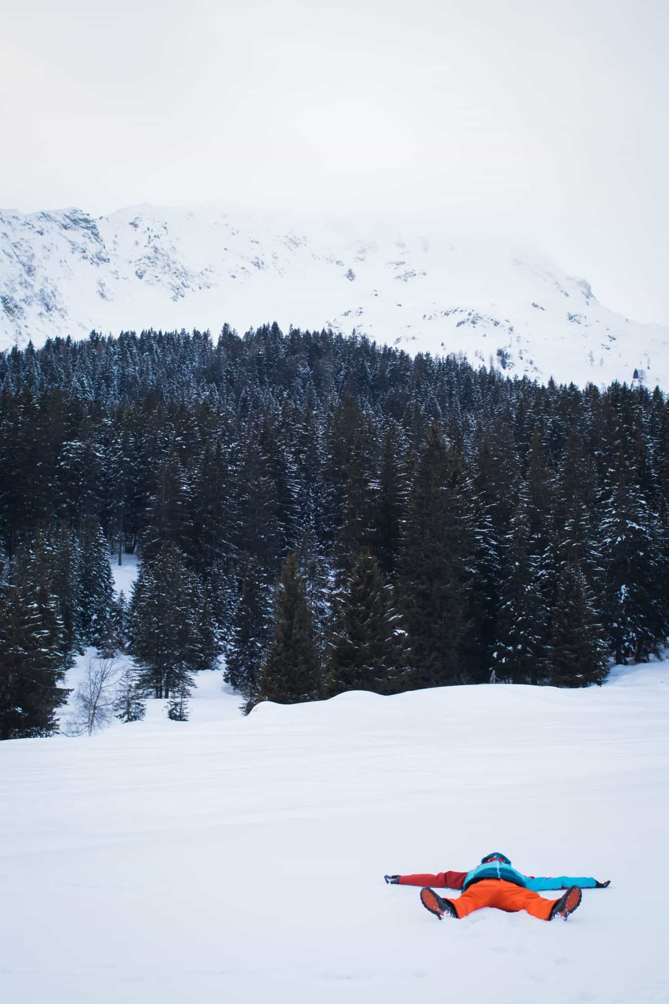 Snow Fun in Trentino Italy