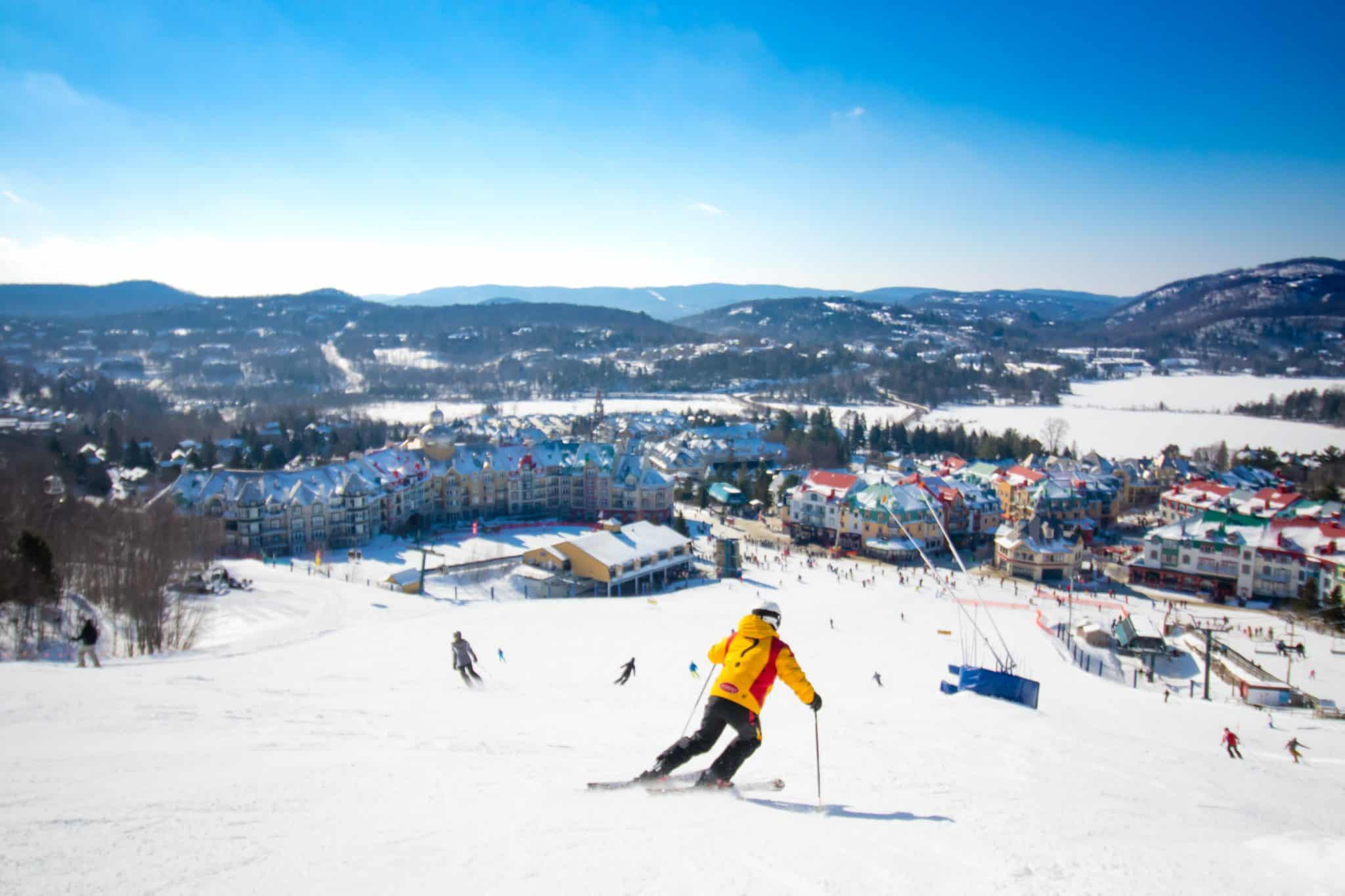 Ski in Mont Tremblant