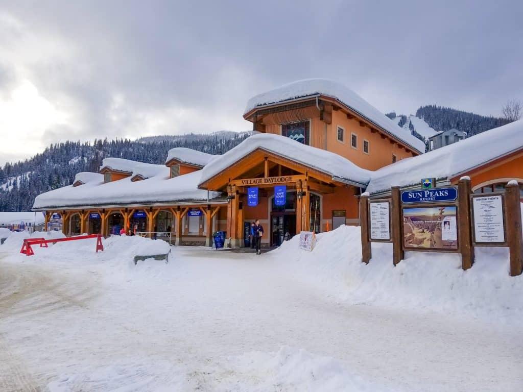 Ski Sun Peaks Resort Village