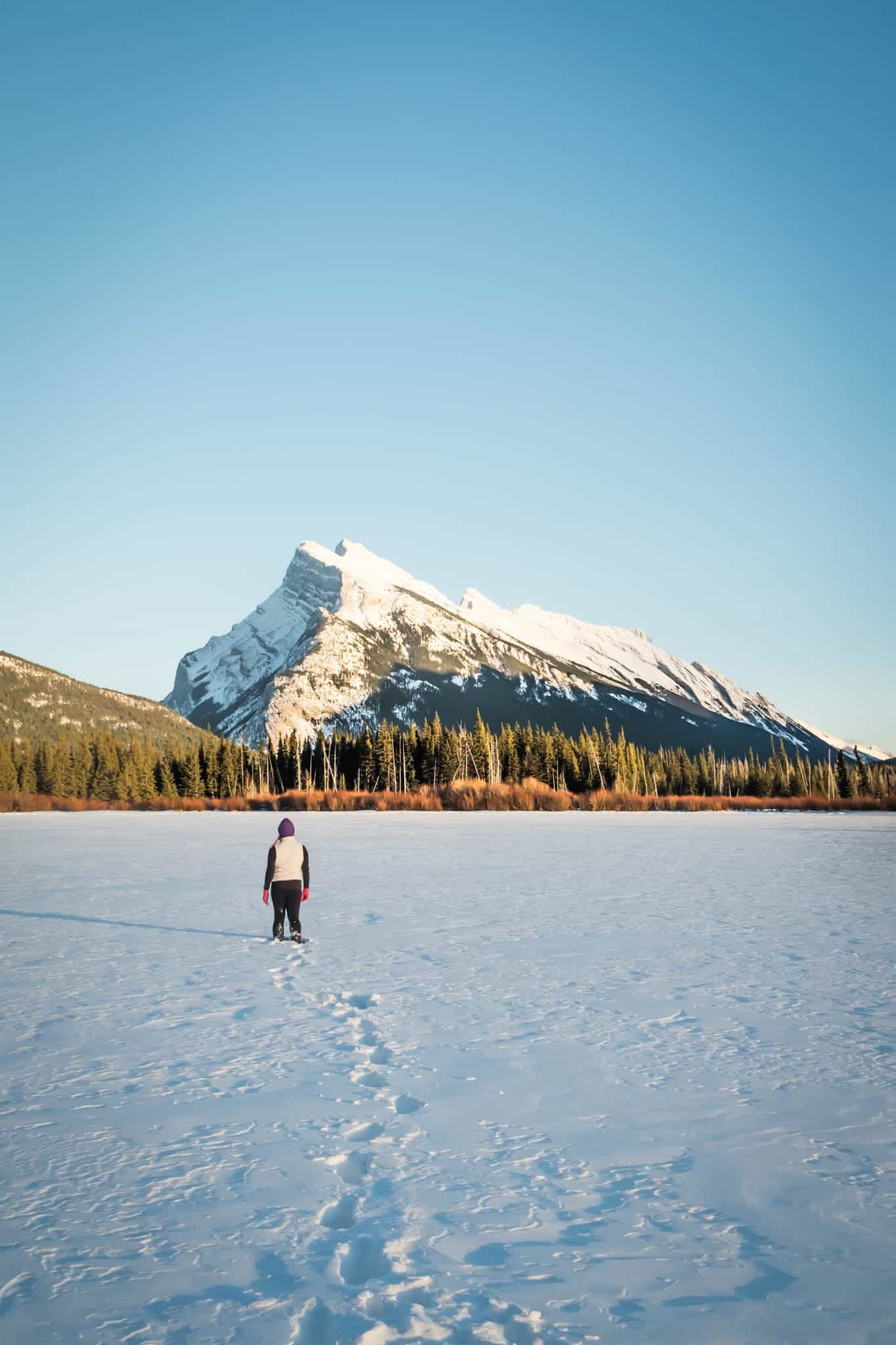 Banff in the Winter