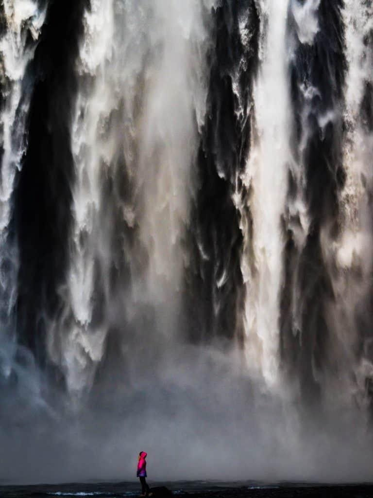 Waterfalls in Iceland - Skogafoss 2