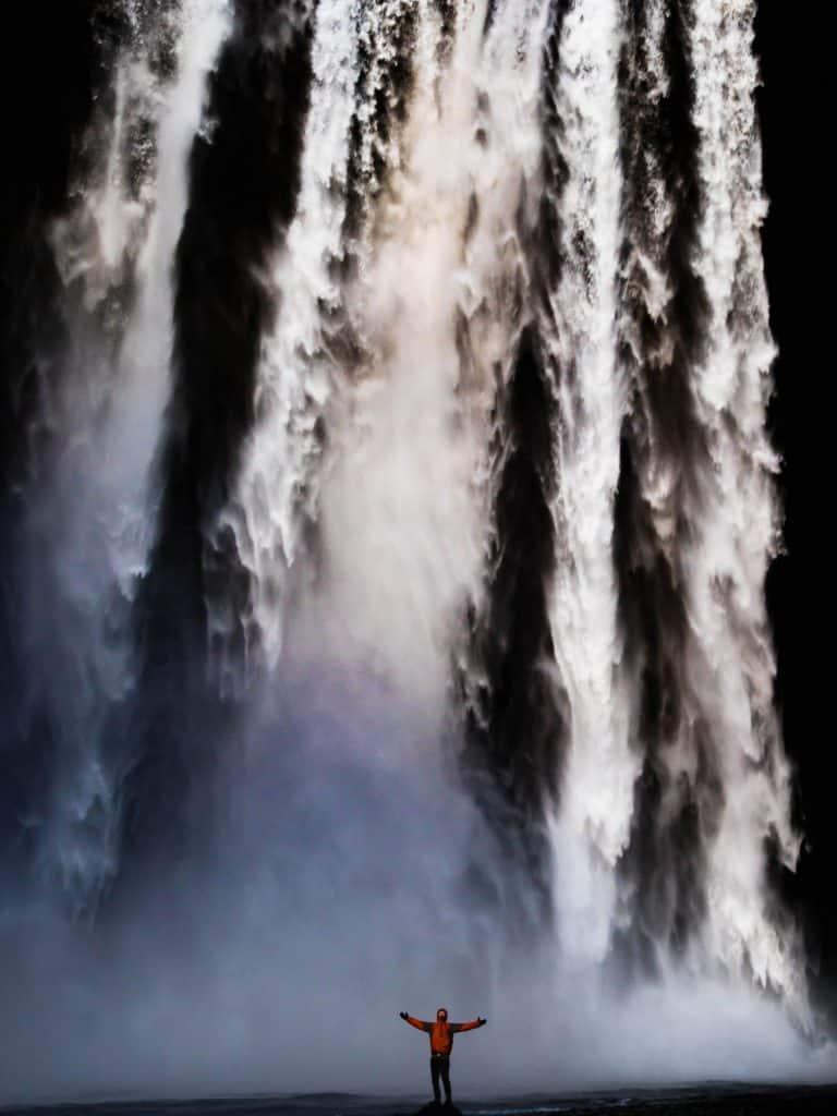 Waterfalls in Iceland - Skogafoss