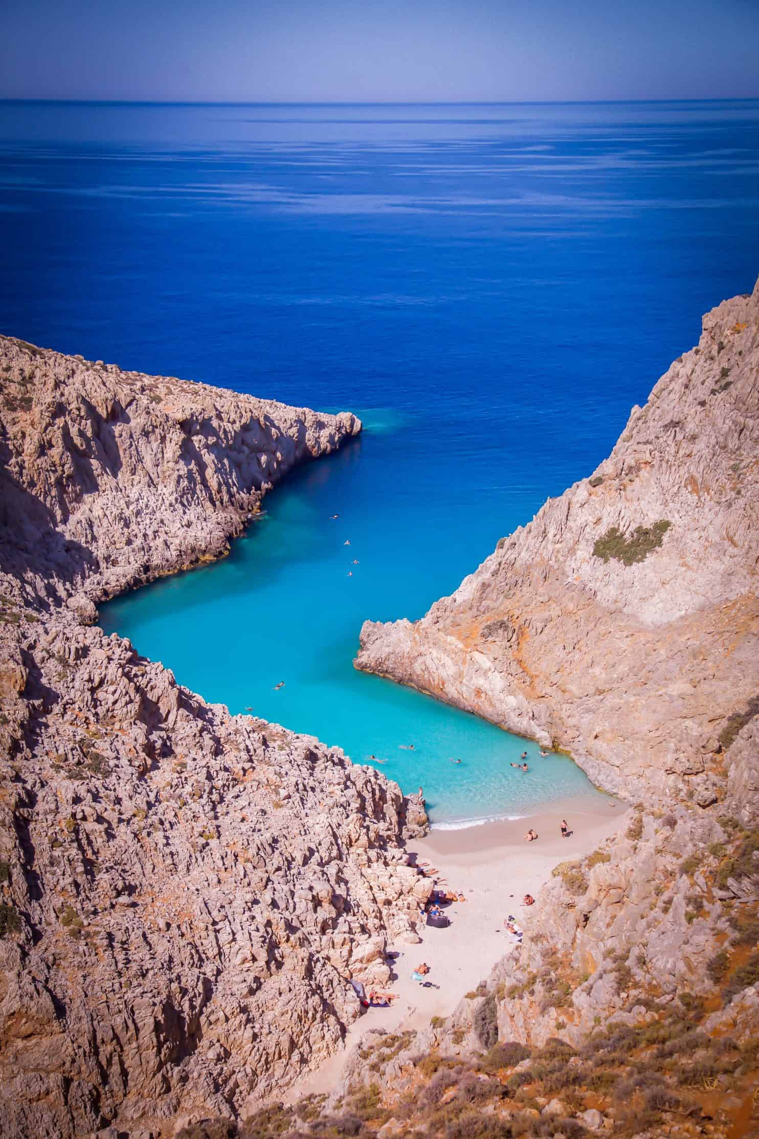 Stefano Beach, Crete