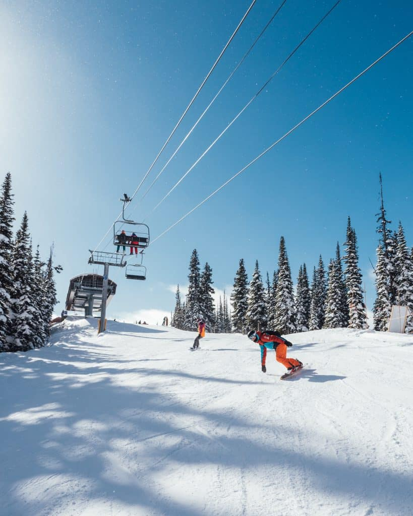 Things To Do in Banff Winter - Banff Sunshine Ski Area - Cameron Seagle and Natasha Alden