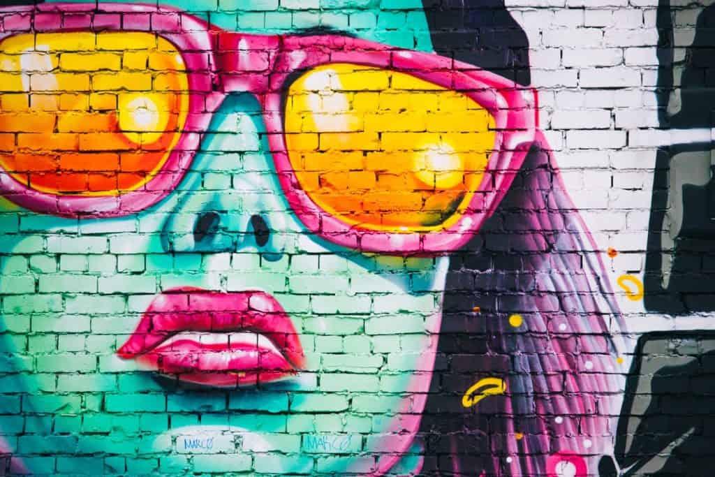 Grafitti Alley Art Work