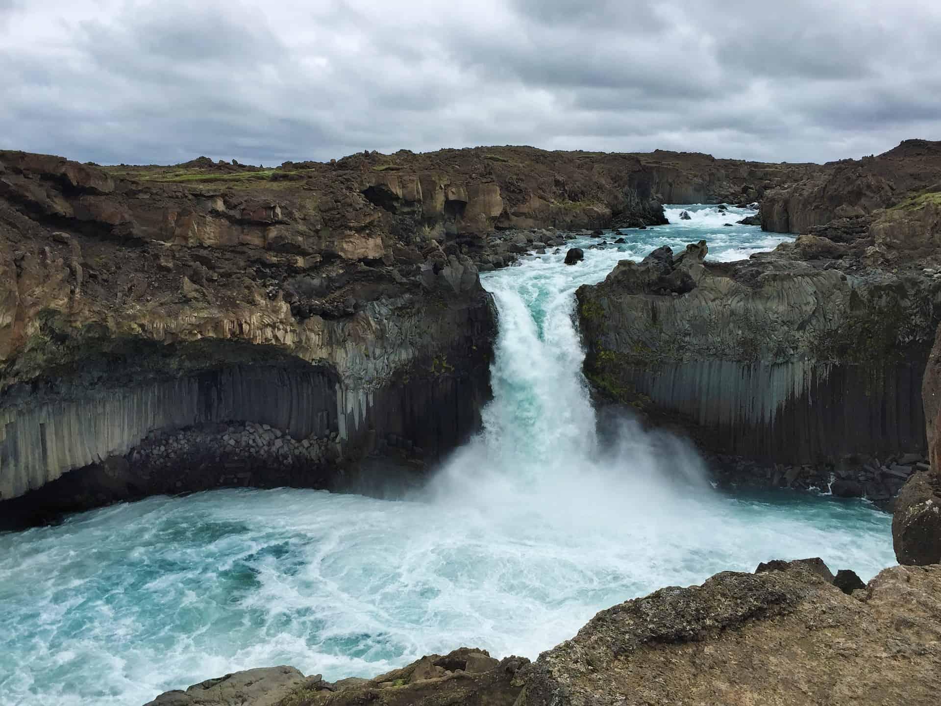 Waterfalls in Iceland - Aldeyjarfoss