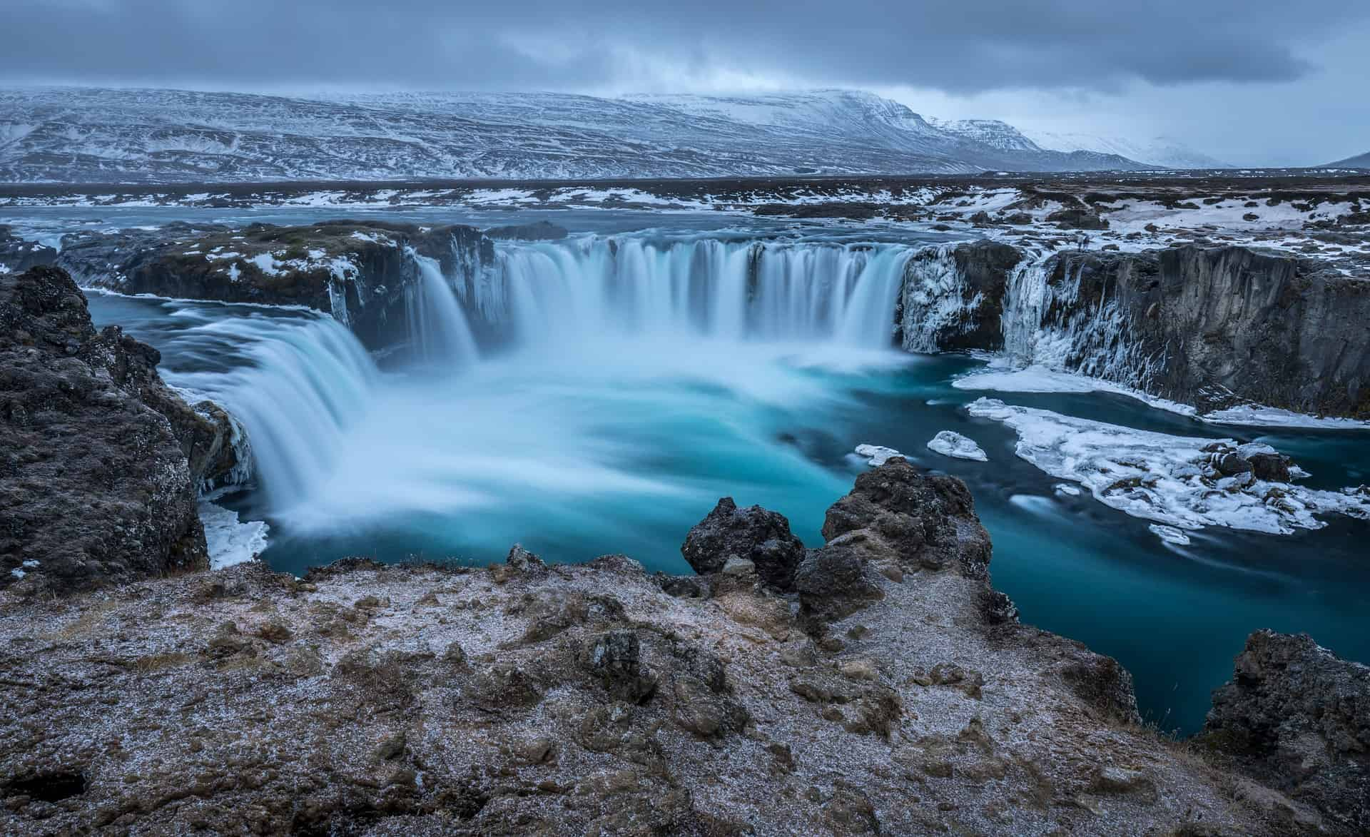 Best Time To Visit Iceland - godafoss waterfall in iceland