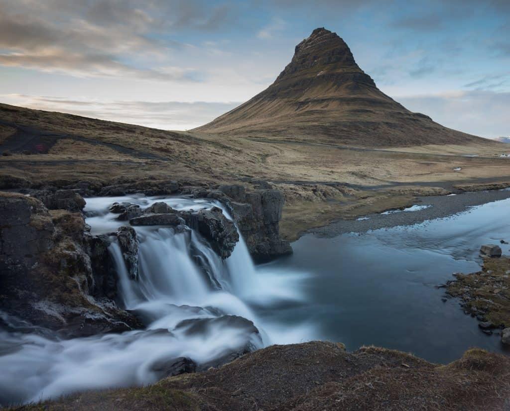 waterfalls in Iceland Kirkjufell
