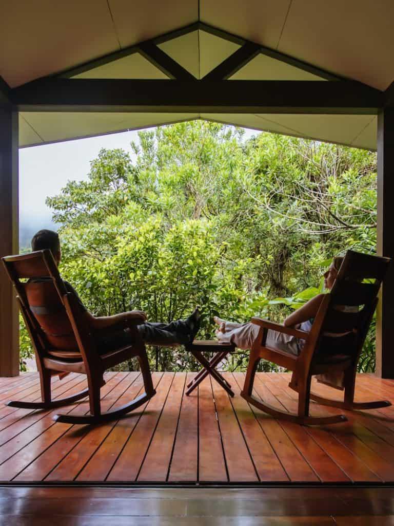 El Silencio Villa Deck