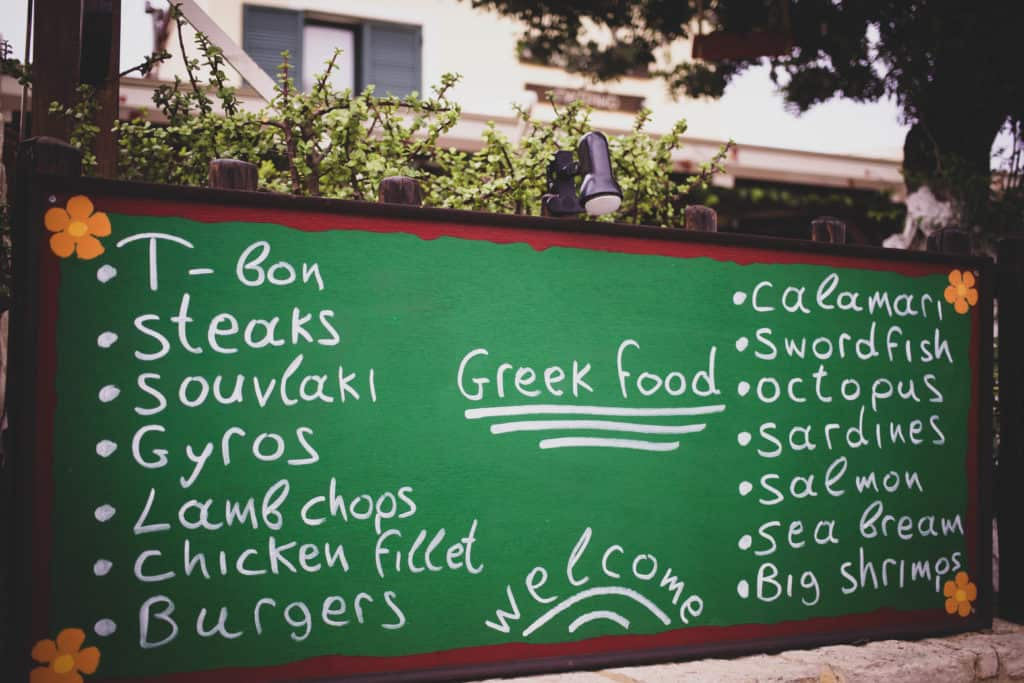 things to eat in Crete