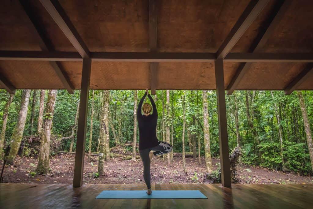 Yoga at El Silencio