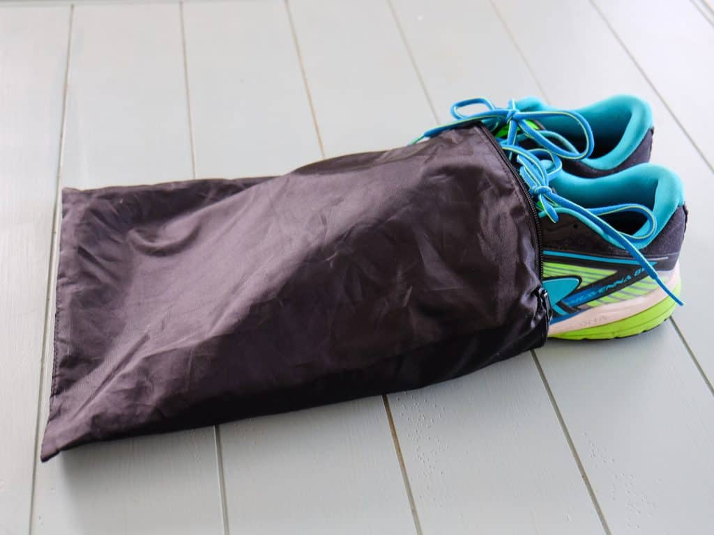 Packing Hacks - Dirty Shoe Bag