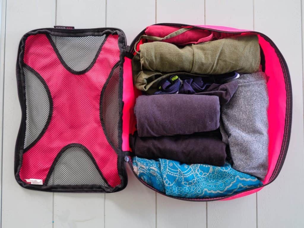 Packing Hacks - Roll Your Clothes