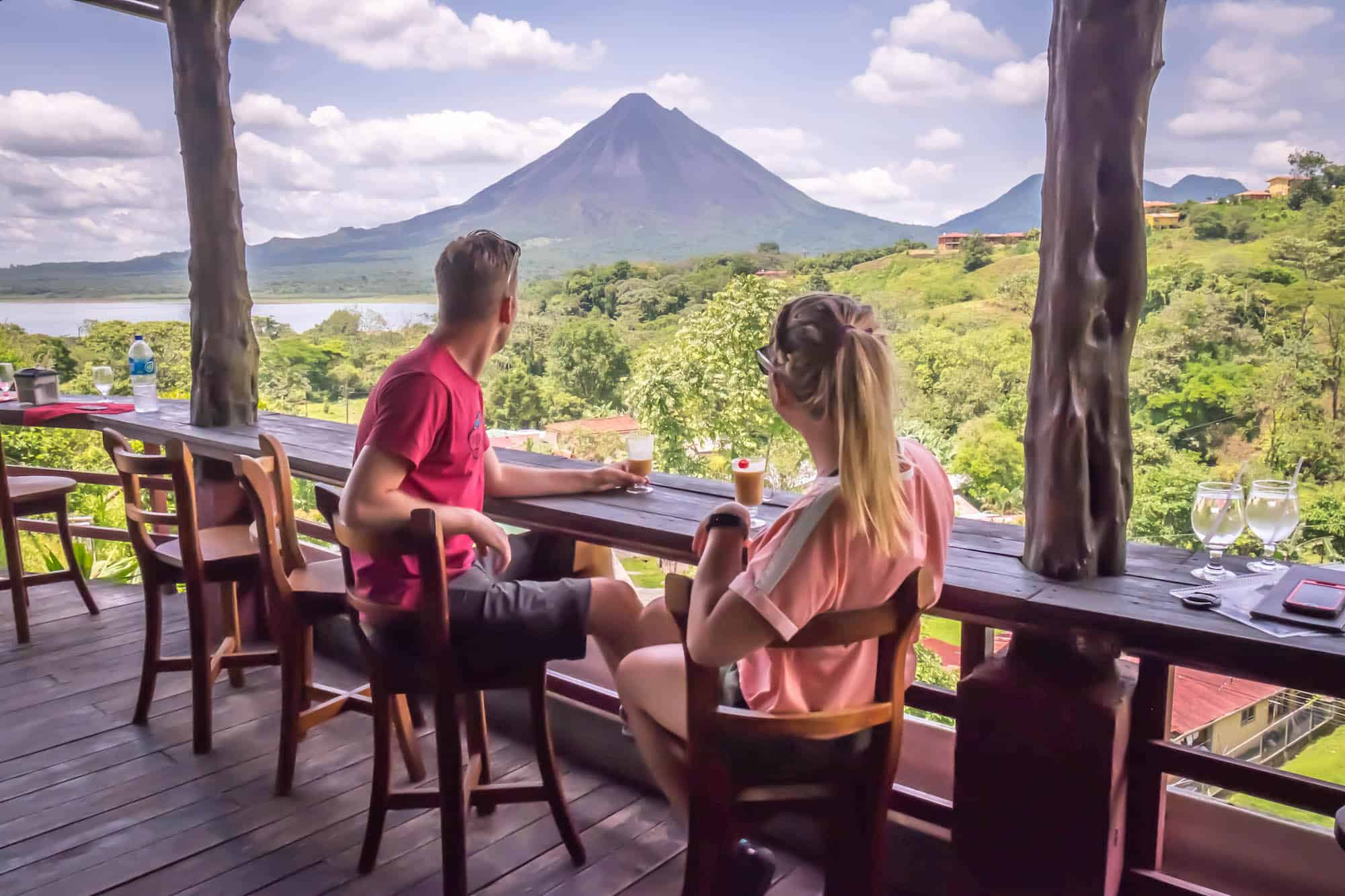 Travel in Costa Rica - Arenal Volcano