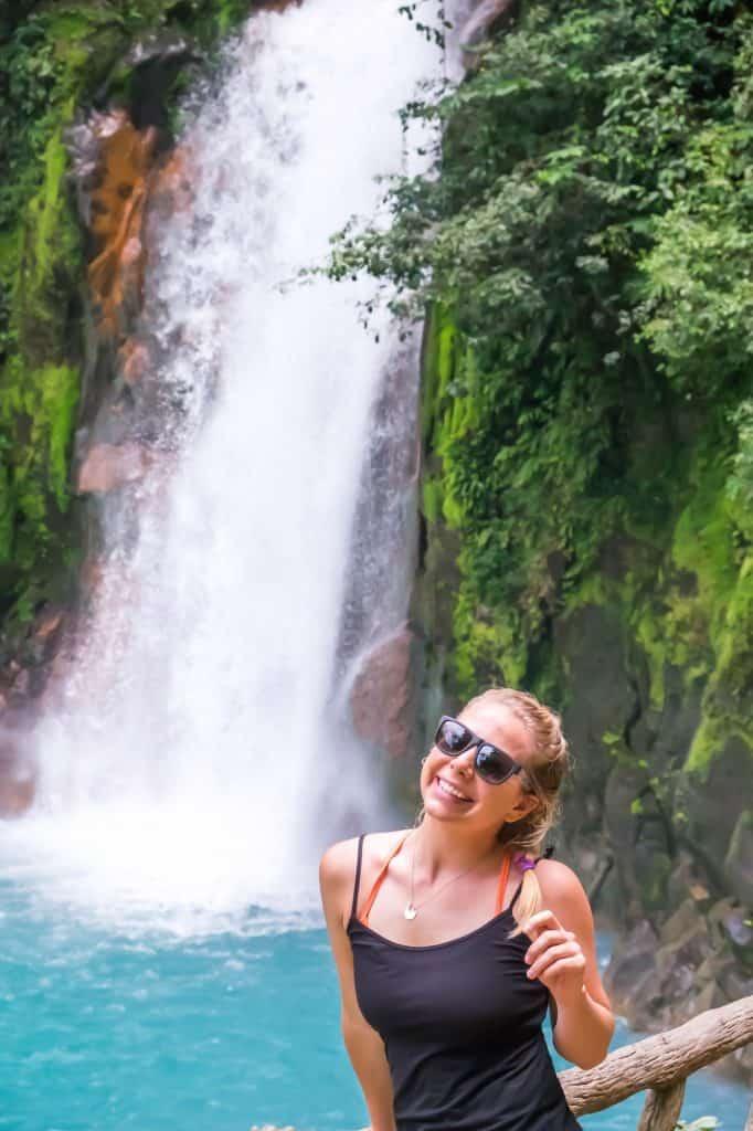 Travel in Costa Rica - Rio Celeste Waterfall Natasha Alden