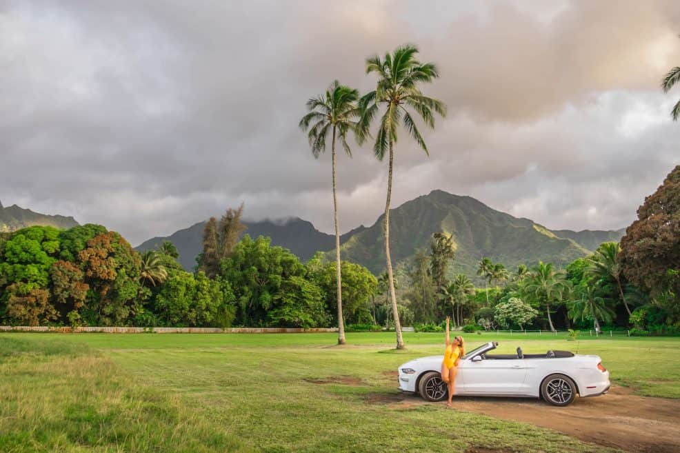 Plan Hawaii Trip - Rental Car Kauai