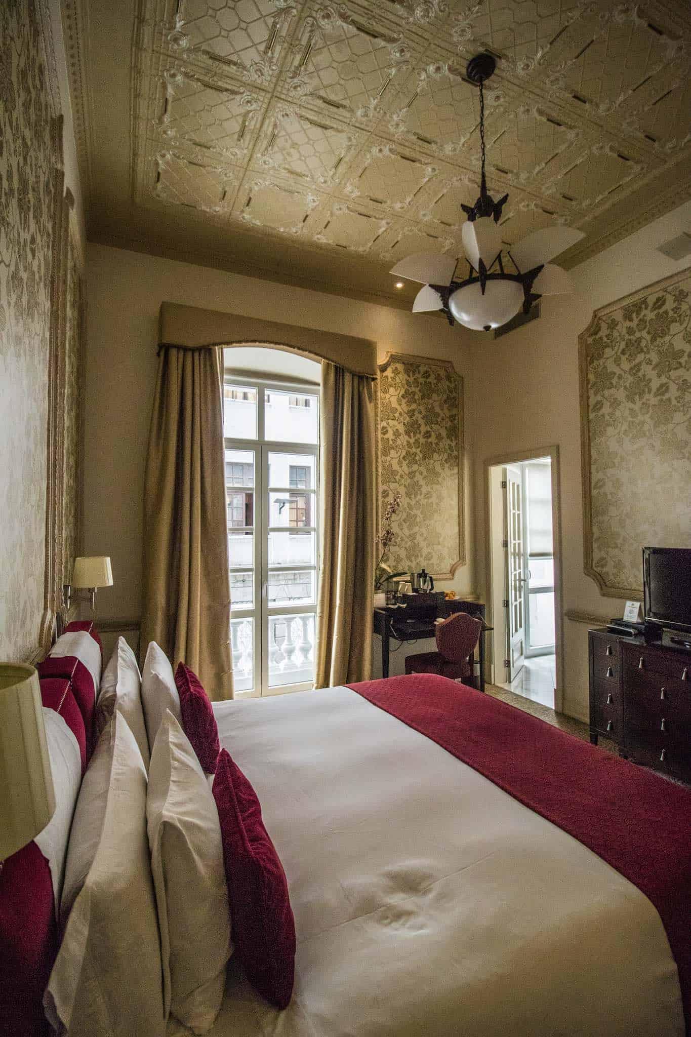Quito - Casa Gangotena - Bedroom