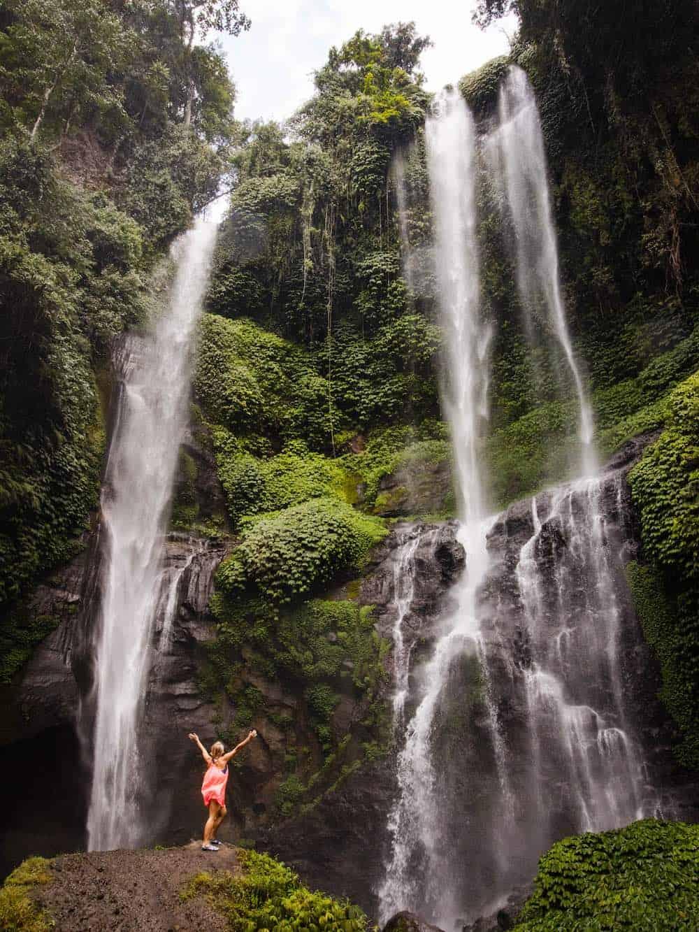 Bali Waterfalls -Sekumpal Waterfall