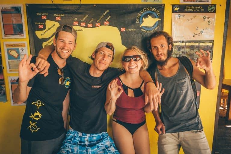 Diving in Nusa Lembongan