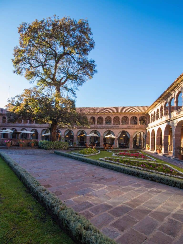 Things to do in Cusco - Monastery Courtyard