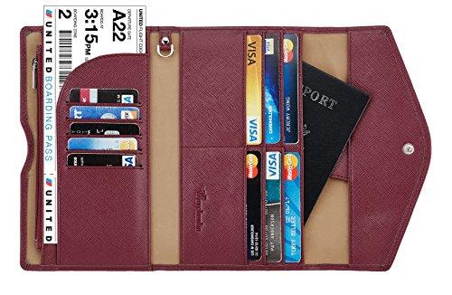 eb0923bf56c0 Travelambo RFID Blocking Passport Holder   Travel Wallet – Best Wallet for  Ladies
