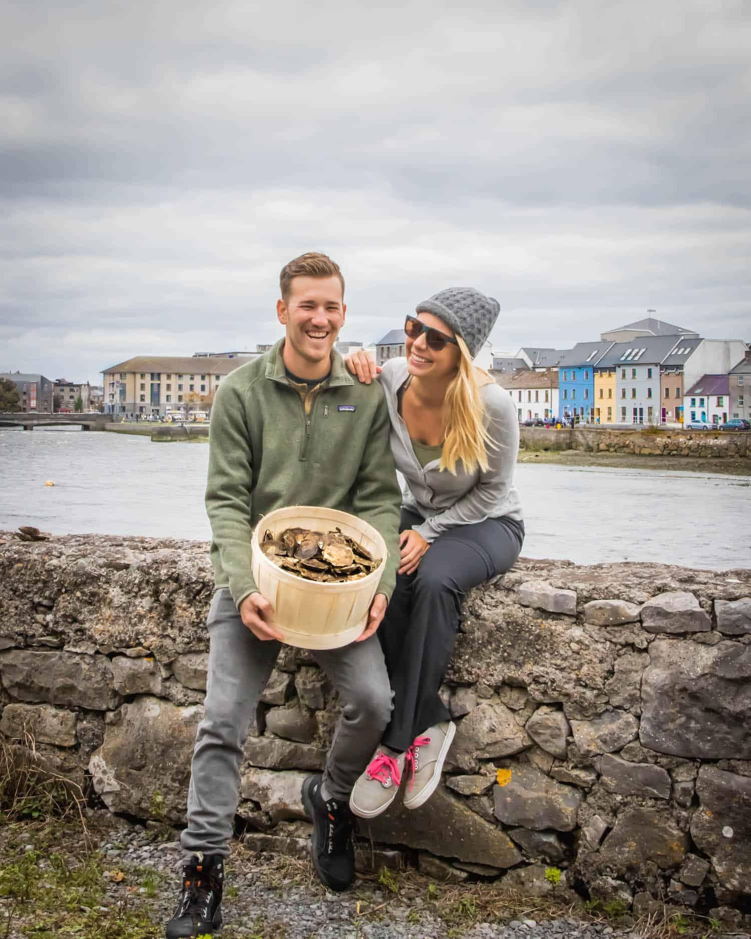 Enjoying the Galway Oyster Festival