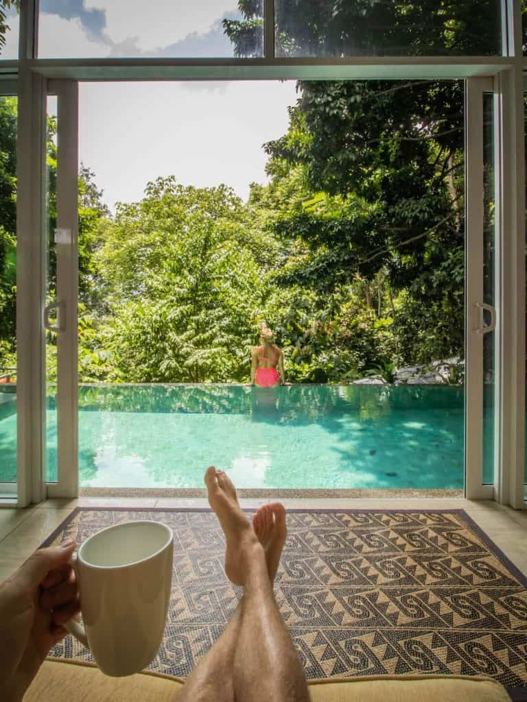 Where to Stay Langkawi - Ambong Pool Vills Coffee