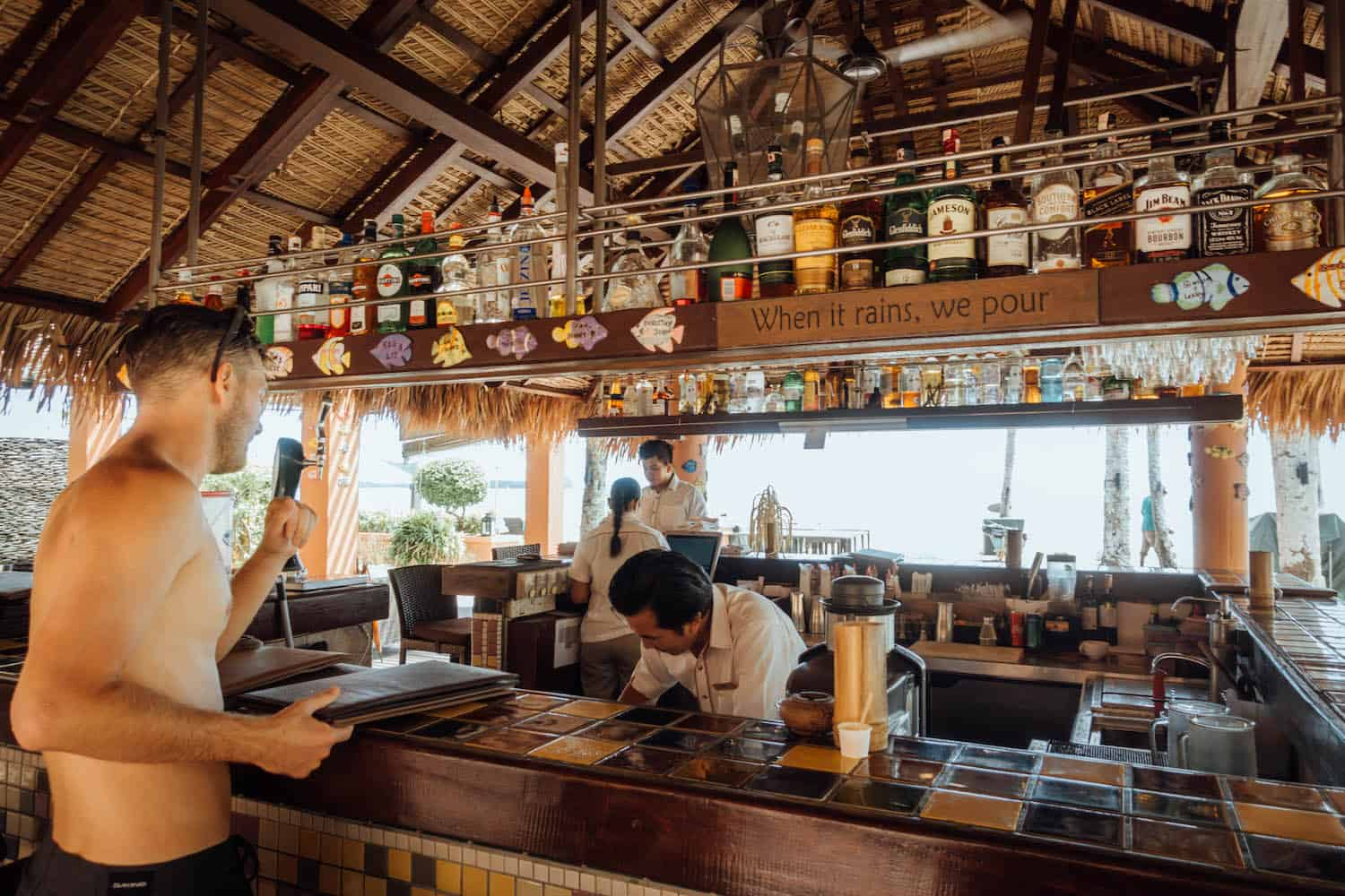 Where to stay Langkawi- Casa Del Mar Bar