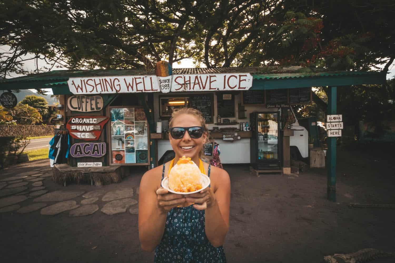 Shaved Ice on Kauai