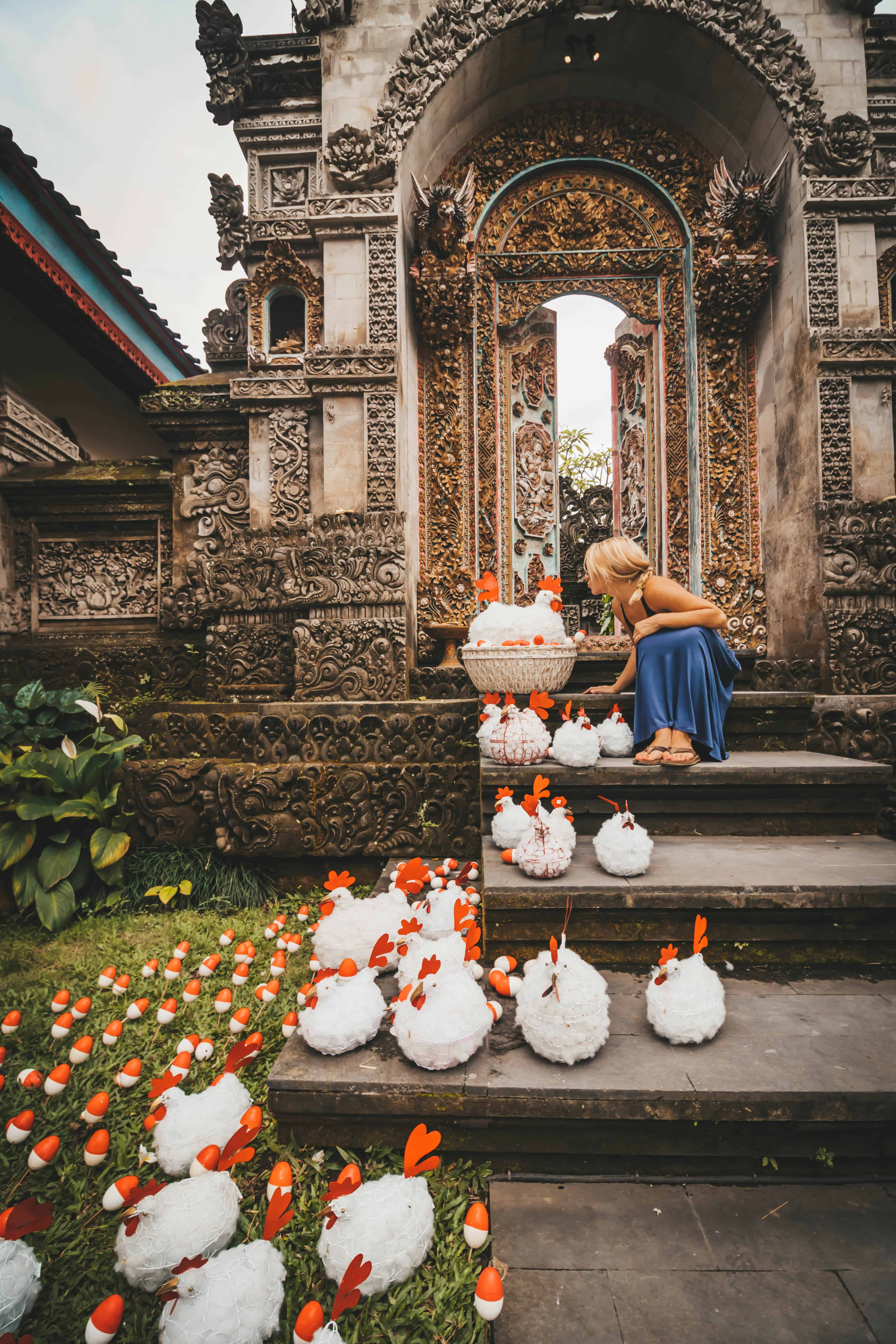 womens packing list for bali