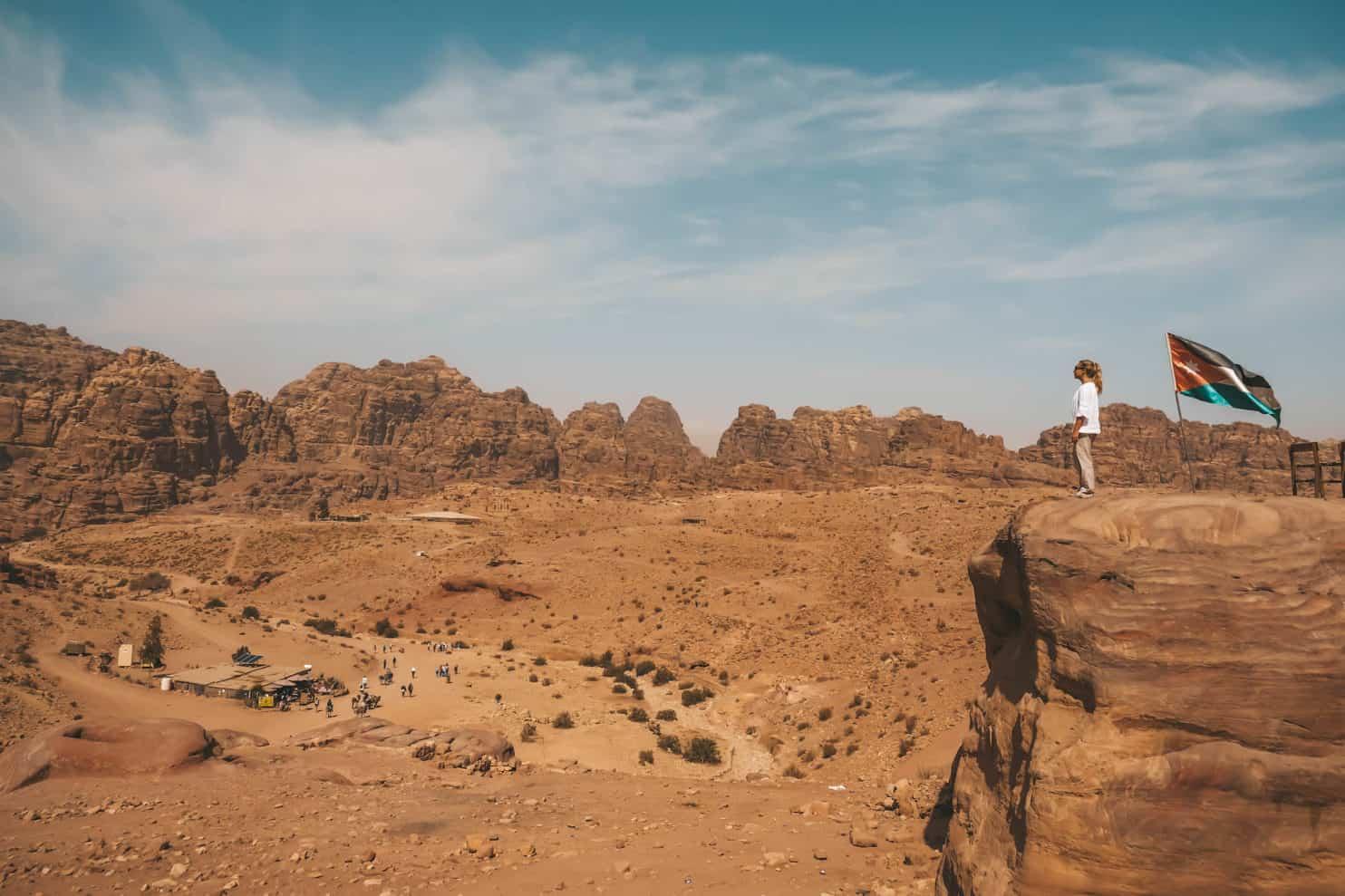 Travel in Jordan - flag