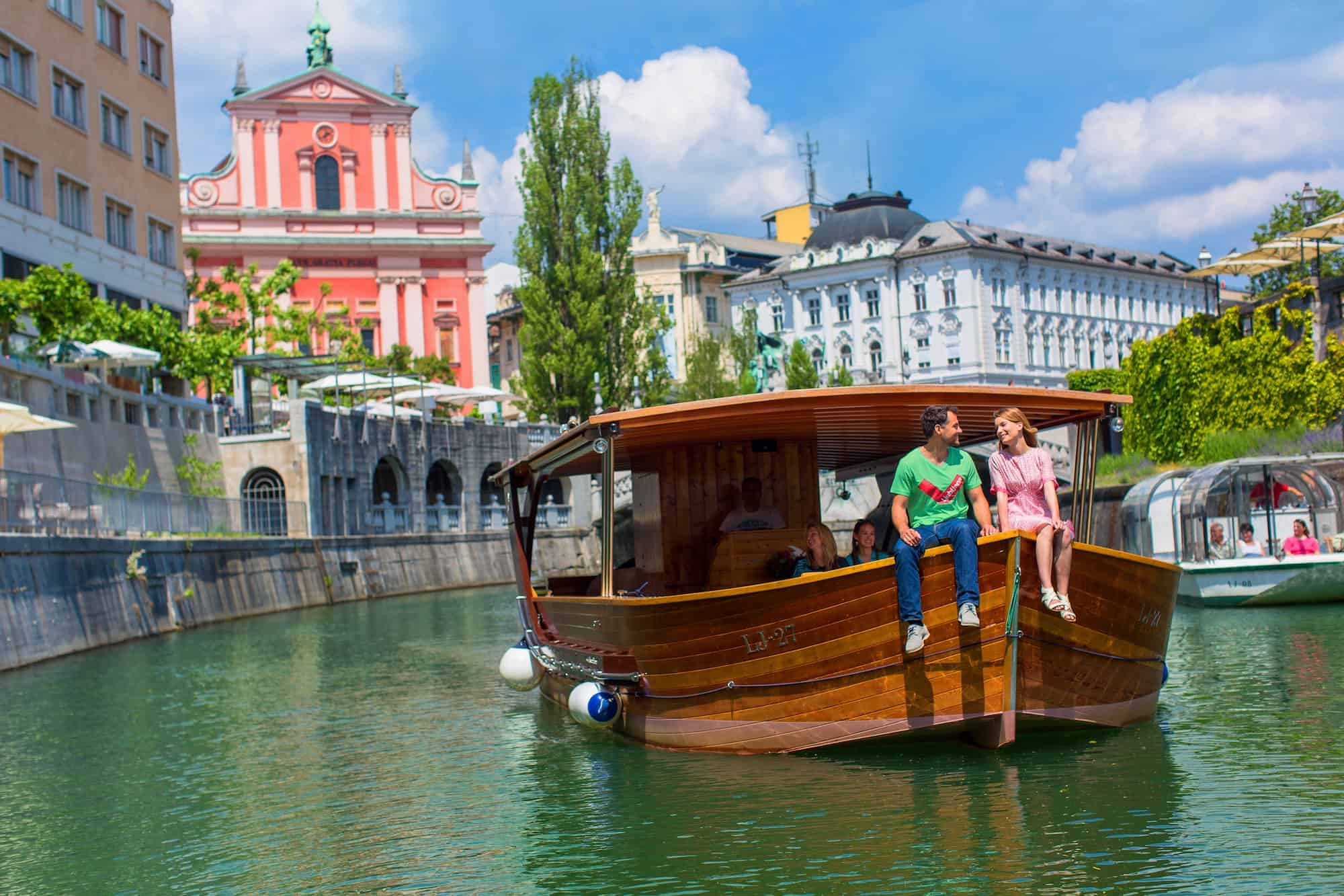 things to do in Ljubljana - boat cruise