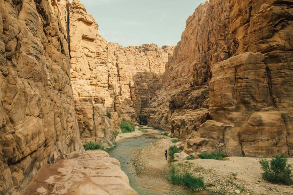 travel in jordan - wadi mujib