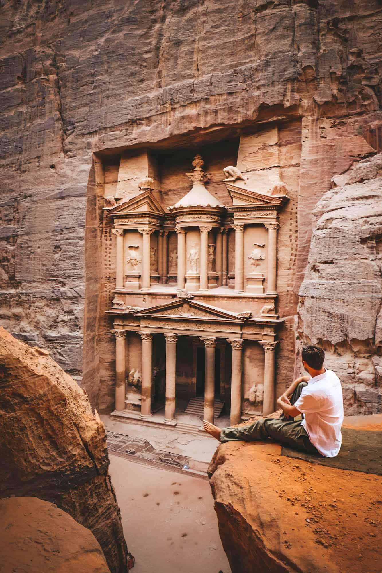 travel jordan - Petra Treasury
