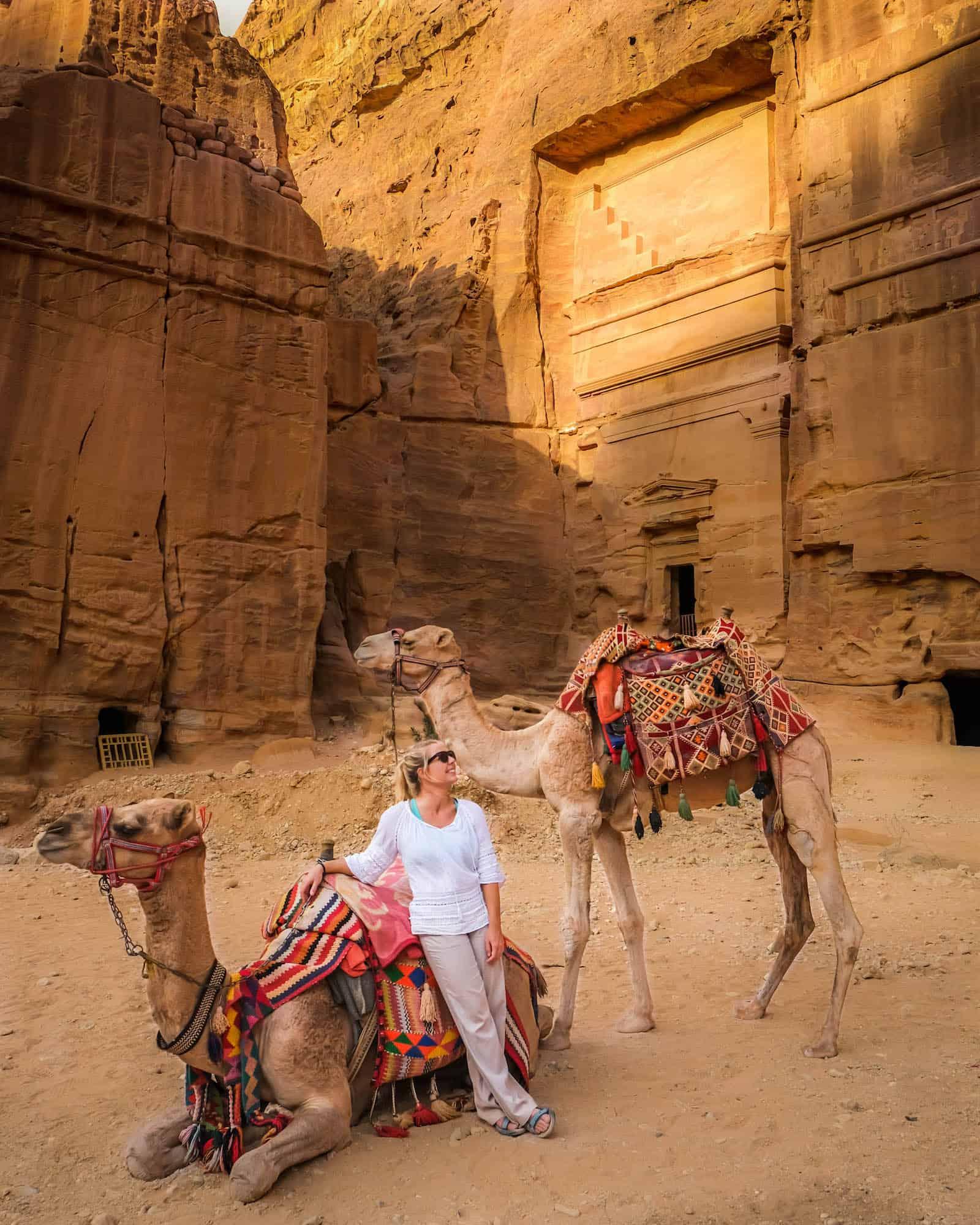 travel jordan camels petra
