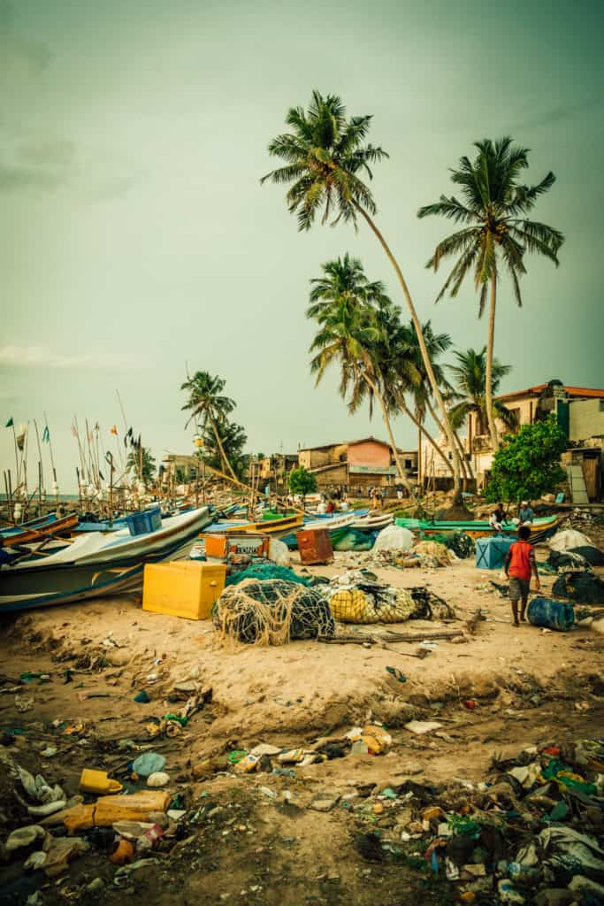 Trash in Asia