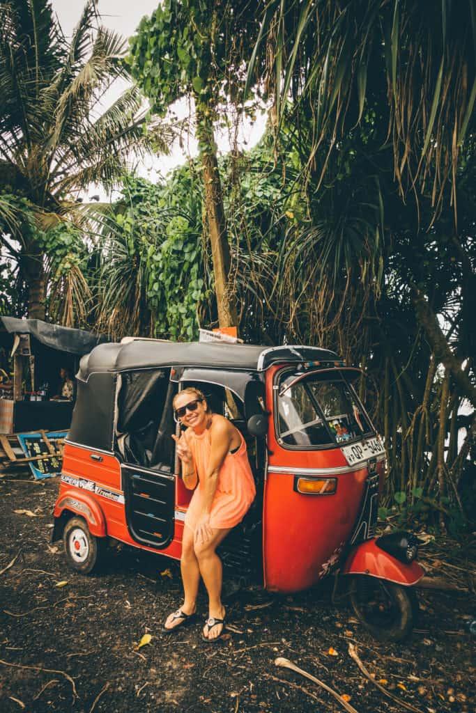 Tuk Tuks in Sri Lanka