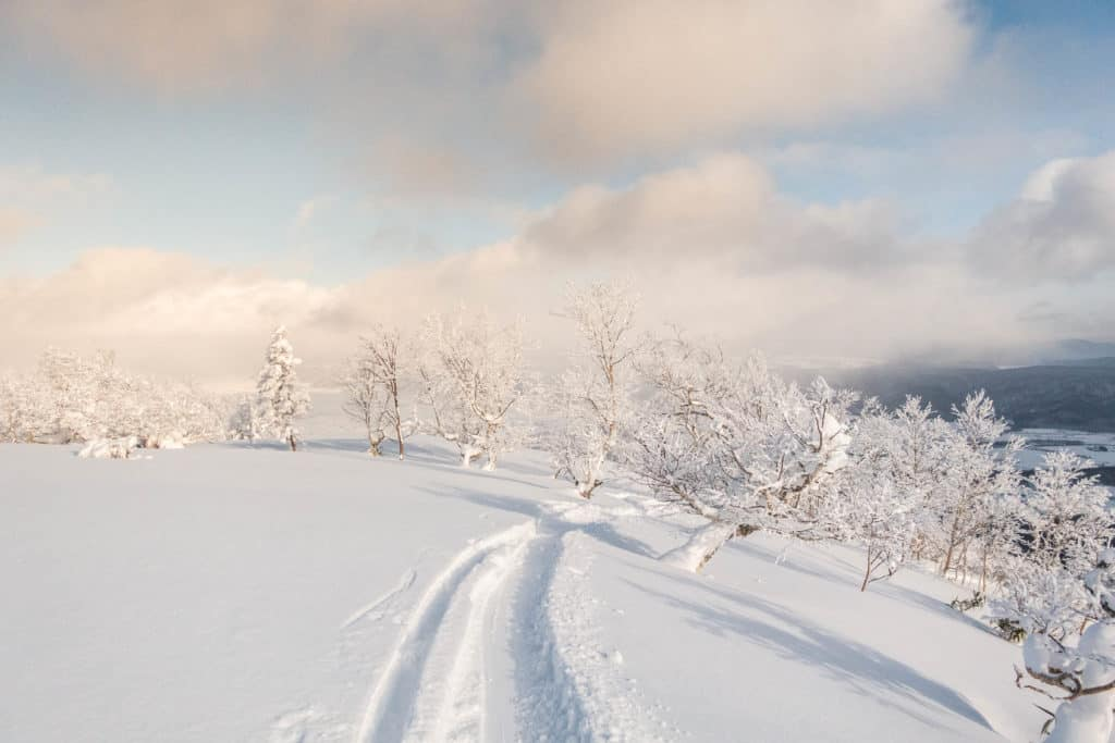 Furano Ski Resort in Japan