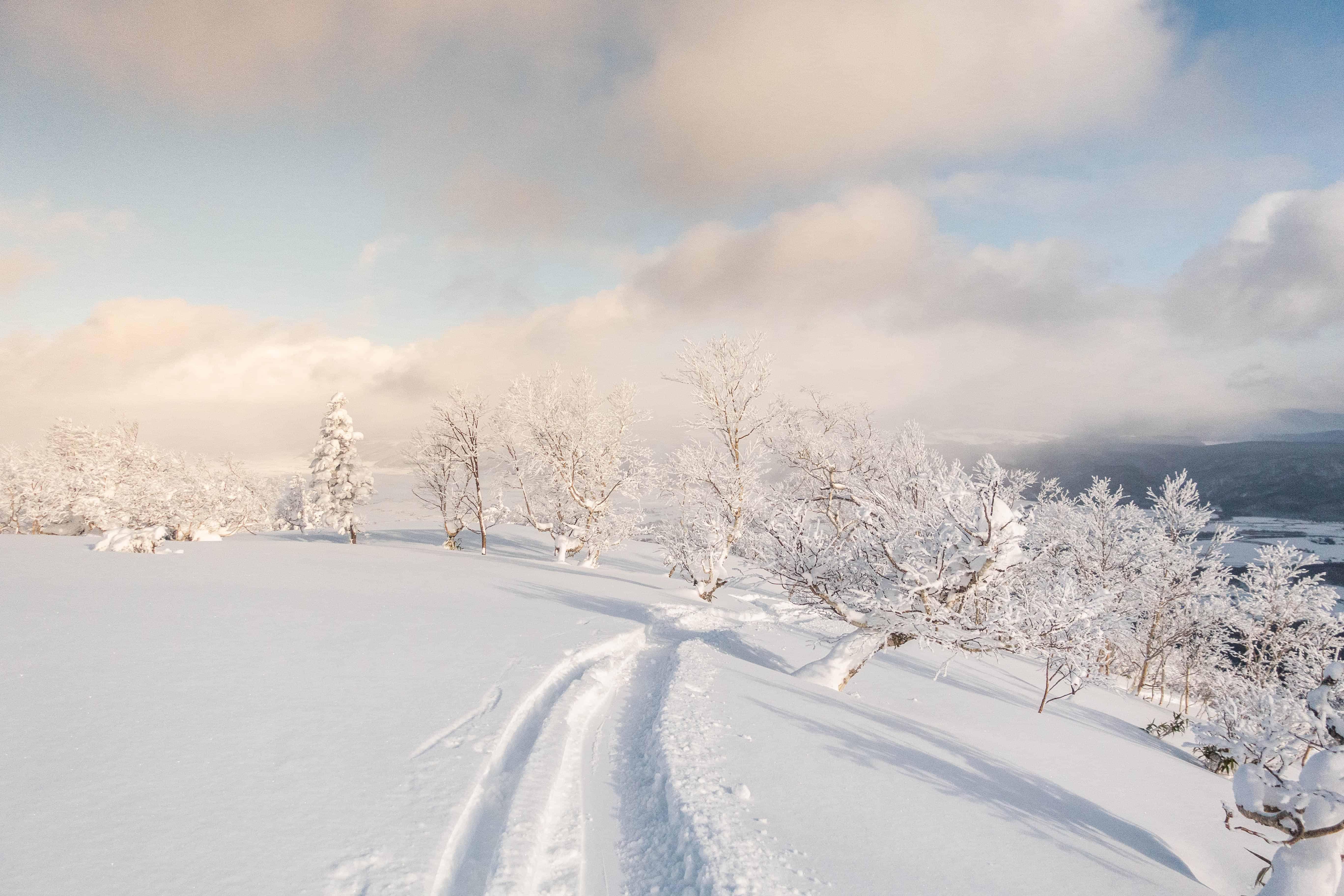 Furano Ski Resort in Japan