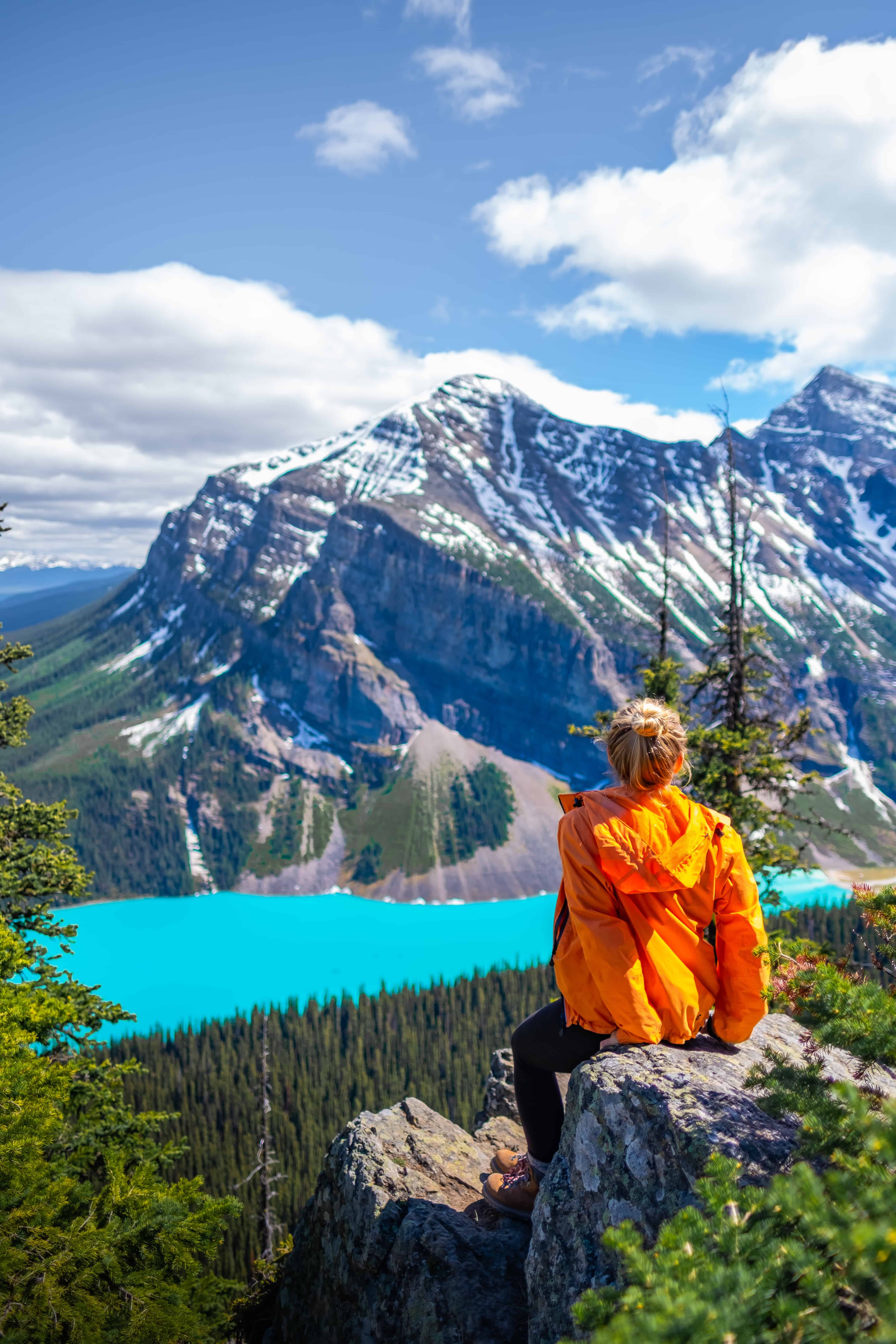 Quotes about the Mountains The Little Beehive Lake Louise Hikes