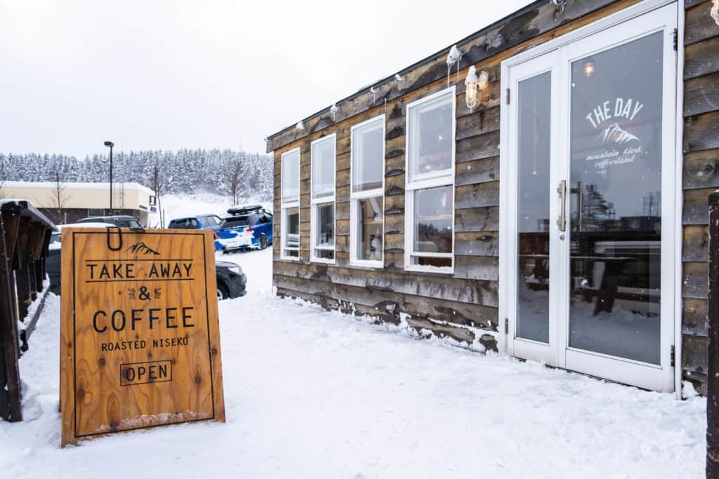 Coffee shop in Niseko