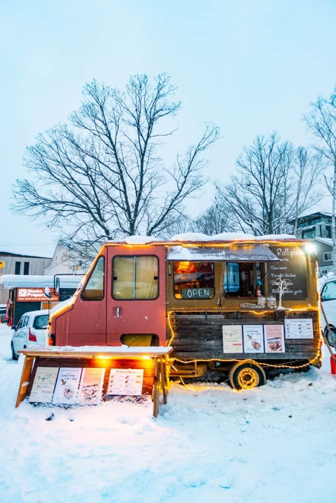 Niseko food truck