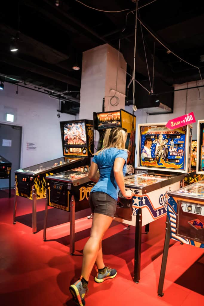 Pinball time in Osaka