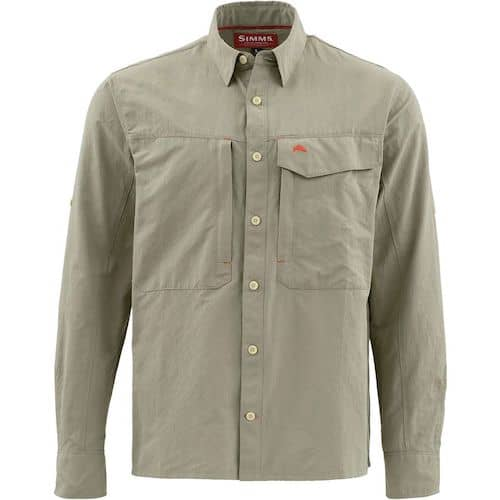 Safari Clothes - Simms Guide Long Sleeve Shirt
